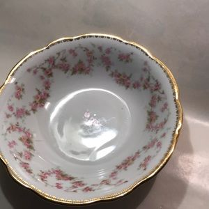 Other - Vintage Bavarian porcelain.Bridal Rose small bowl.